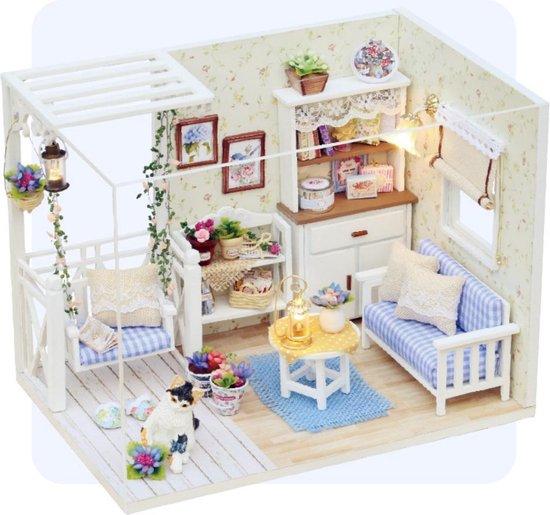 diy miniatuurhuis bouwpakket robotime modelbouw voor volwassenen kattenhuisje beginners houten