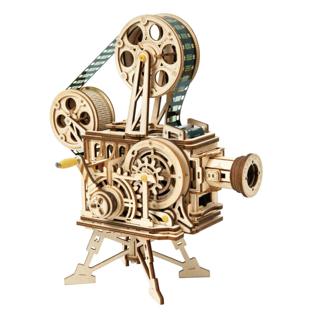 robotime bouwpakket diy modelbouwpakket modelbouw houten 3D puzzel vitascope
