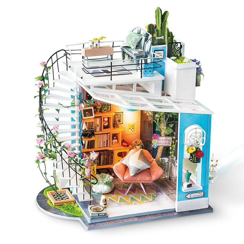 robotime bouwpakket diy modelbouwpakket modelbouw dora's loft